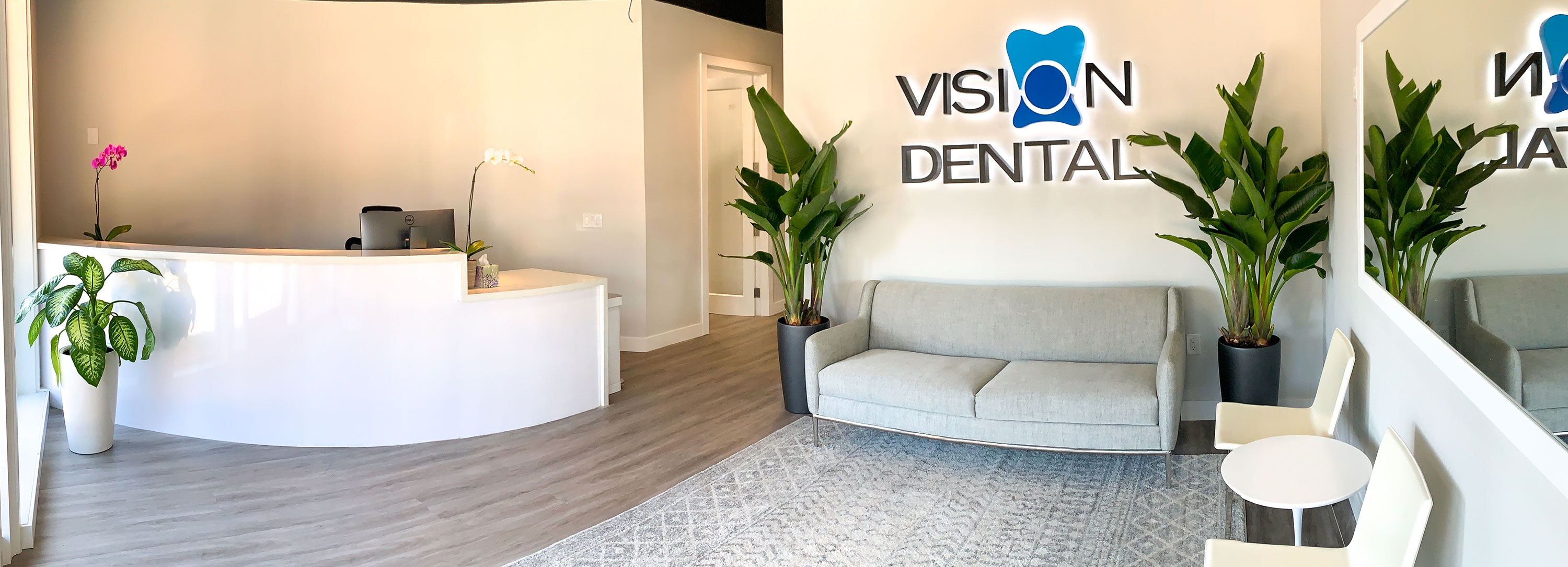 Vision Dental | View of dental exam room